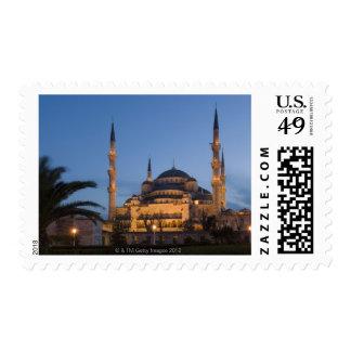 Mezquita azul, área de Sultanhamet, Estambul, Franqueo