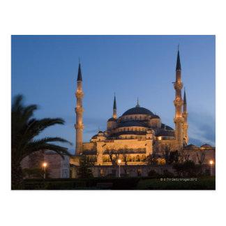 Mezquita azul, área de Sultanhamet, Estambul, Postal