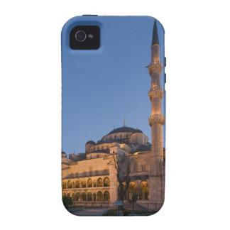 Mezquita azul área de Sultanhamet Estambul Turq iPhone 4 Funda