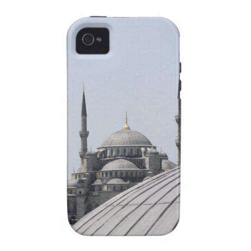 Mezquita azul con la curva de la bóveda principal carcasa Case-Mate para iPhone 4