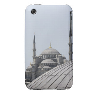 Mezquita azul con la curva de la bóveda principal iPhone 3 cobertura