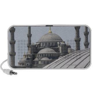 Mezquita azul con la curva de la bóveda principal laptop altavoz