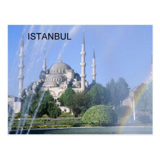 Mezquita azul de Turquía Estambul (St.K) Postal