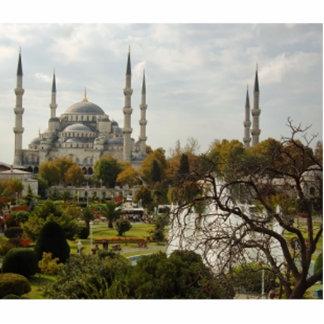 Mezquita azul escultura fotografica