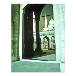 Mezquita azul, Estambul Tarjeta Publicitaria