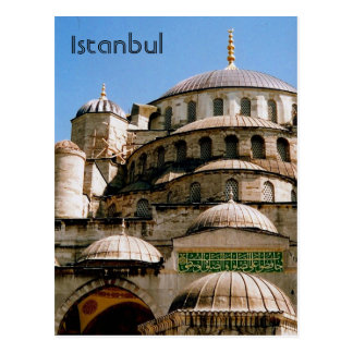 mezquita azul Estambul Tarjetas Postales
