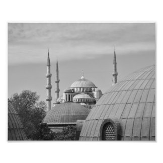 Mezquita azul, Estambul, Turquía Impresión Fotográfica