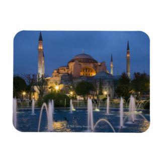Mezquita azul, Estambul, Turquía Imán Foto Rectangular