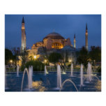 Mezquita azul, Estambul, Turquía Posters