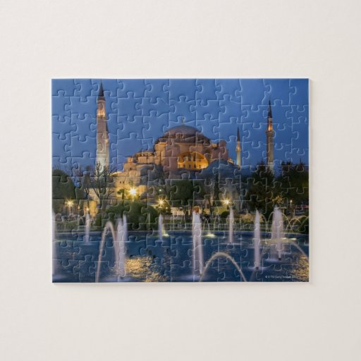 Mezquita azul, Estambul, Turquía Rompecabezas