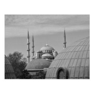 Mezquita azul, Estambul, Turquía Postal