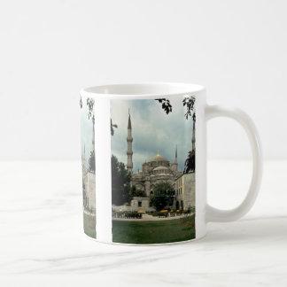 Mezquita azul, Estambul, Turquía Taza De Café
