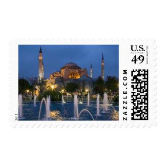 Mezquita azul, Estambul, Turquía Timbre Postal