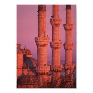 Mezquita azul invitaciones personalizada