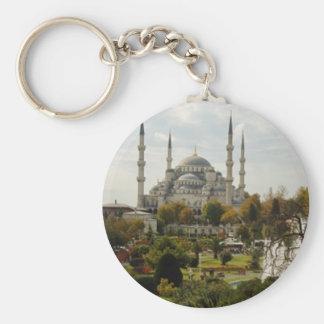 Mezquita azul llaveros personalizados