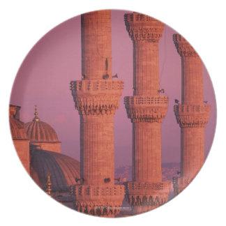 Mezquita azul plato de cena
