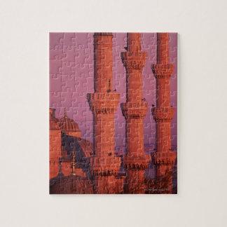 Mezquita azul puzzle con fotos