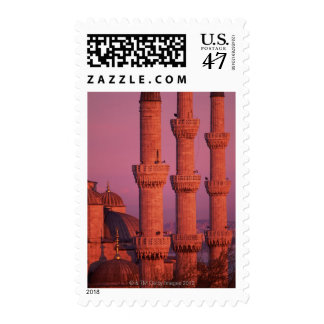 Mezquita azul sellos postales
