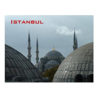 Mezquita azul tarjetas postales