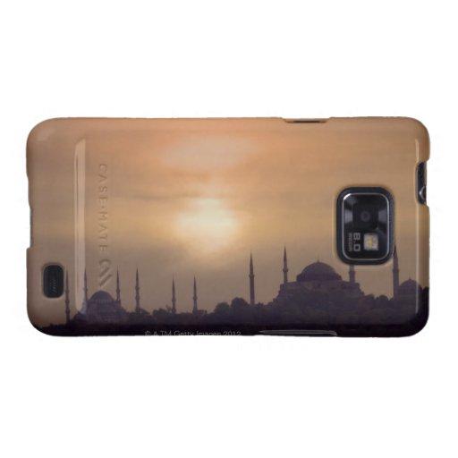 Mezquita azul y Hagia Sophia Turquía, Estambul Carcasa Para Samsung Galaxy SII