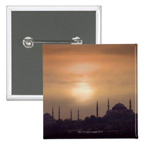 Mezquita azul y Hagia Sophia Turquía, Estambul Pin