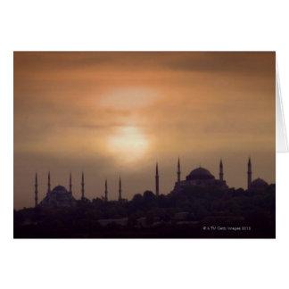 Mezquita azul y Hagia Sophia Turquía, Estambul Tarjetas