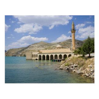 Mezquita central de Halfeti Merkez Camii) en parte Postal