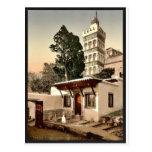 Mezquita de Abder-Rhaman, vintage P de Argel, Arge Postal