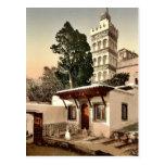 Mezquita de Abder-Rhaman, vintage P de Argel, Arge Tarjetas Postales