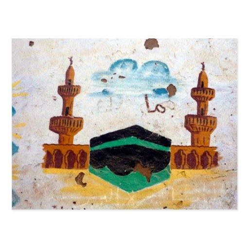 mezquita de Asuán Postal