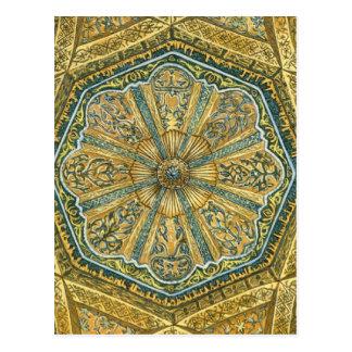 Mezquita de Córdoba España. Cúpula del mihrab Tarjetas Postales