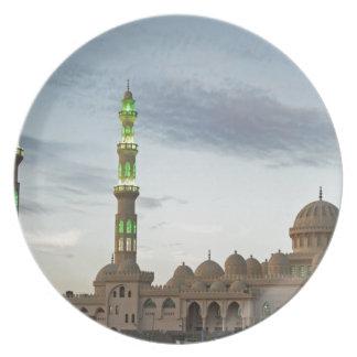 mezquita de Egipto Plato Para Fiesta