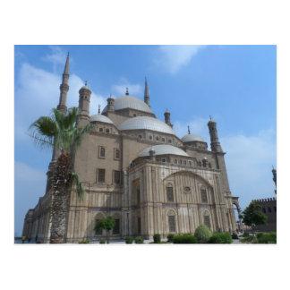 Mezquita de El Cairo, Egipto de Mohamed Ali en la  Tarjetas Postales
