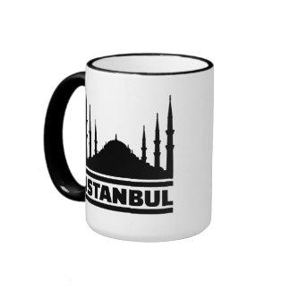 Mezquita de Estambul Taza De Café