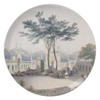Mezquita de Goolaum Hoossein Huzrut-Jee, el gran P Plato De Cena