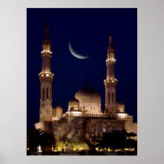 Mezquita de Jumeirah Póster