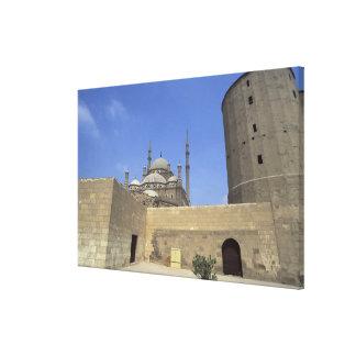 Mezquita de Mohammed Ali en la ciudadela de El Cai Impresión En Lona
