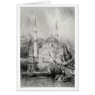 Mezquita de Nusretiye Tarjeta De Felicitación