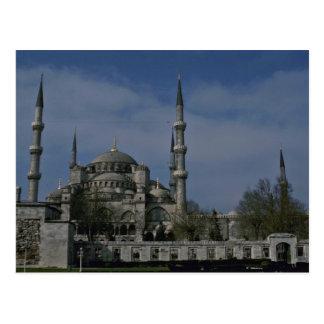 Mezquita de Sultanahmet Tarjetas Postales