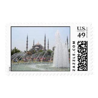 Mezquita del azul de Estambul Sellos