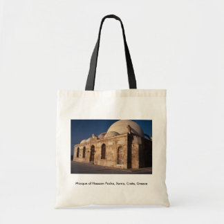 Mezquita del bajá de Hassam Xania Creta Grecia Bolsa Lienzo