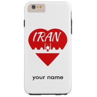 Mezquita del corazón de Irán Funda Para iPhone 6 Plus Tough