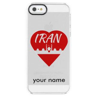 Mezquita del corazón de Irán Funda Clearly™ Deflector Para iPhone 5 De Uncommon