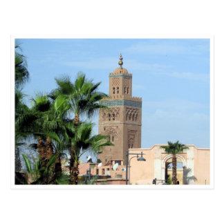 mezquita del koutoubia postales