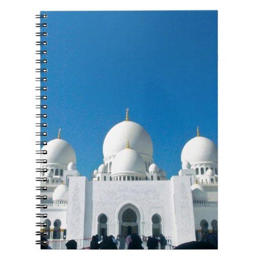 Mezquita en Abu Dhabi Libro De Apuntes
