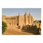 Mezquita en Djenne, un ejemplo clásico de Fotografía