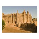 Mezquita en Djenne, un ejemplo clásico de Tarjetas Postales