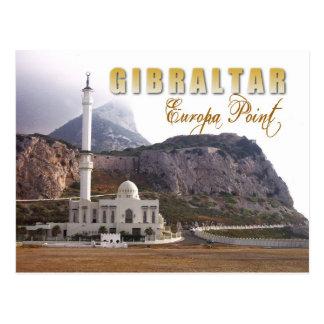 Mezquita en el punto del Europa Gibraltar