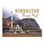 Mezquita en el punto del Europa, Gibraltar Tarjeta Postal