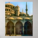 Mezquita, Estambul Poster